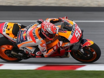 Foto van motoGP coureur Marc Marquez ter illustratie van MotoGP seizoen 2020. credits Macau Photo Agency via Unsplash